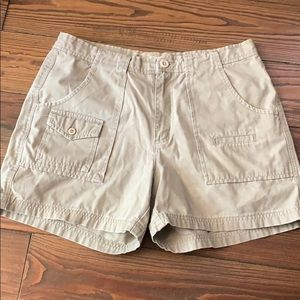 Vintage American Eagle cargo khaki shorts 10